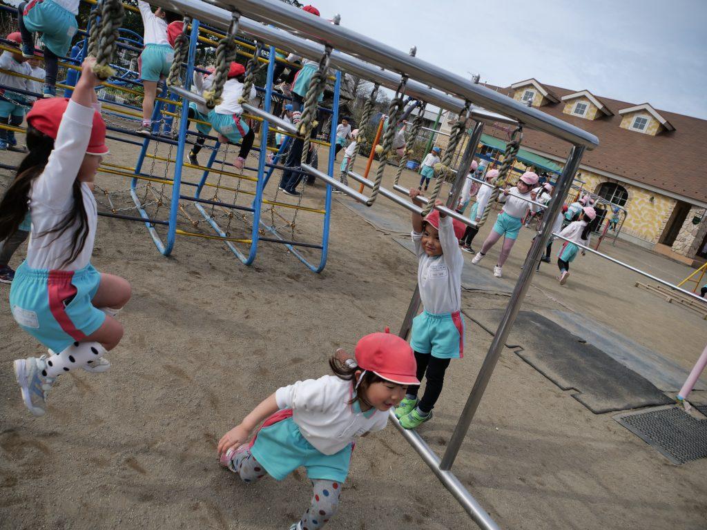認定こども園せんだん幼稚園 体育ローテーション